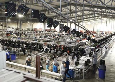 Desert Farm factory floor